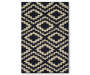 Navy Harlow Accent Rug 20 by 34 Silo