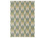Neely Ivory Area Rug 5 Feet 3 Inches by 7 Feet 6 Inches Overhead View Silo Image