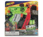 Nerf Zombie Strike Clampdown Blaster Overhead Shot in Package Silo Image