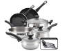 New Traditions 12 Piece Stainless Steel Cookware Set silo front