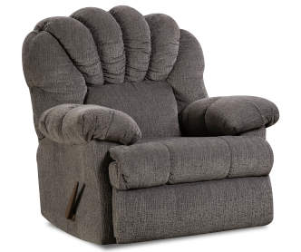 Stratolounger Stallion Gray Snuggle Up Recliner Big Lots
