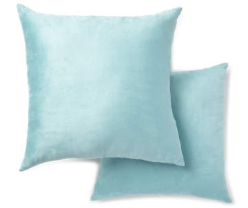 Blue Microsuede Throw Pillows : Home Decor & Home Accents Big Lots