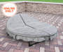 ORBIT ROUND CUSHIONED LOUNGER