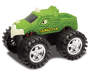 Orange and Green Monster Masher Powered Trucks 2-Pack SIlo Green Truck Only