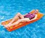 Orange and Pink Inflatable Pool Lounges 2 Pack lifestyle