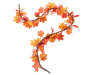 Orange and Yellow Maple Twig Garland 6 Feet Snake Ovehread View Silo Image