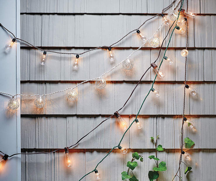 Starting At 6 00 Outdoor String Light Collection