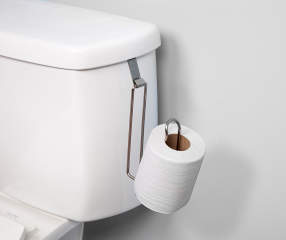 Kenney Over-The-Tank Brushed Nickel Toilet Paper Holder   Big Lots