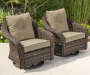 PALERMO RW 4 PC SEATING SET - 2PK GLIDERS