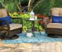 Wilson Amp Fisher Blue Abbott Indoor Outdoor Rugs Big Lots