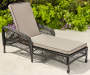 PINEHURST ALL WEATHER WICKER LOUNGER WITH CUSHIONS