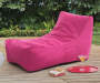 PINK KING LOUNGER POUF