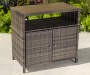 Palermo All Weather Wicker Sideboard lifestyle