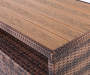 Palermo All Weather Wicker Sideboard silo top view