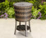 Palermo All Weather Wicker Wine Cooler lifestyle