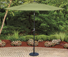 Wilson Amp Fisher Palm Green Market Patio Umbrella 9