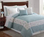 Pandora Sea Breeze 5-Piece King Quilt Set Lifestyle Image