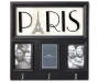 Paris Collage Frame with Hooks silo front