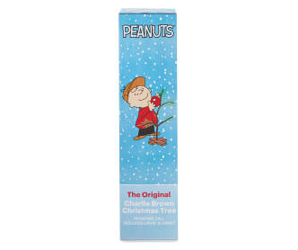 product works peanuts charlie brown christmas tree 18 big lots - Charlie Brown Christmas Tree For Sale