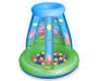 Peppa Pig Inflatable Ball Playland with 15 Soft Vinyl Balls Front View Silo Image