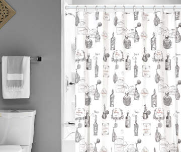black and white shower curtain set.  8 00 Shower Curtains Curtain Sets Big Lots