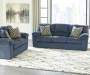 Pindall Denim Blue Loveseat