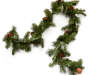 Pinecone Hard Needle Garland 6 Feet Snake Pose Silo Image