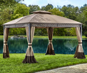 Wilson Amp Fisher Pinehurst Domed Gazebo 10 X 12 Big Lots