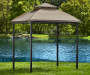 Pinehurst Small Space Grill Gazebo 8in x 5in lifestyle