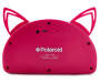 Pink Bluetooth Light Up Cat Speaker Back View Silo Image