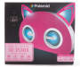 Pink Bluetooth Light Up Cat Speaker Package Silo Image