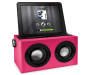 Pink Bluetooth Retro Boombox Speaker Ipad In Dock Silo