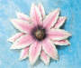 Pink Flower Wall Decor lifestyle