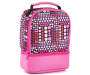 Pink Polka Dot Dual Compartment Lunch Kit Silo Image