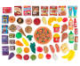 Pizza and Snacks Play Food Set 70 Piece Out of Package Silo Image