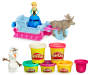Play Doh Frozen Sled Adventure Play Set Out of Package with Accessories Silo Image