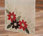 "Poinsettia Table Runner, (13"" x 72"")"