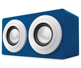 Polaroid Blue Bluetooth 174 Wireless Mini Box Speaker Big Lots