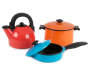 Pots and Pans Play Set 5 Piece Out of Package Silo Image
