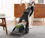 Power Steamer woman cleaning floor