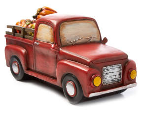 Pumpkin Truck Tabletop D 233 Cor Big Lots