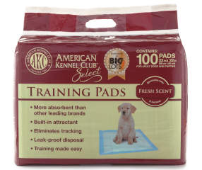 Akc Select Select Puppy 100 Count Training Pads 22 Quot X 22