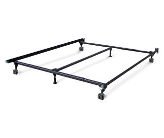 Twin full bed frame big lots for Small king bed frame