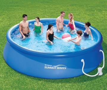 above ground pools inflatable pools supplies big lots. Black Bedroom Furniture Sets. Home Design Ideas