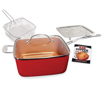 T Fal 12 Piece Red Cookware Set Big Lots