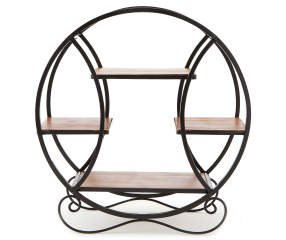 Wilson Amp Fisher Wood Amp Metal Round 4 Shelf Plant Stand