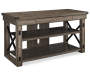 RUSTIC GREY OAK 50IN TV STAND Silo