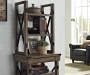 RUSTIC GREY OAK BOOKSHELF lifestyle