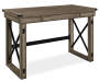 RUSTIC GREY OAK DESK silo