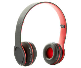 sentry red bluetooth stereo headphones big lots. Black Bedroom Furniture Sets. Home Design Ideas